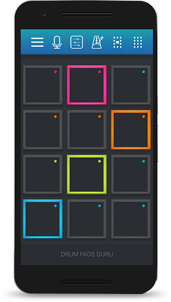 Drum Pads Guru - IOS,Android,Windows Phone